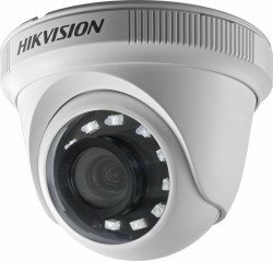 Camera supraveghere Dome Hikvision TurboHD DS-2CE56D0T-IRF, 2 MP, IR 20 m, 2.8 mm - DS-2CE56D0T-IRPF2C