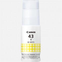 Cartus cerneala Canon GI-43Y, culoare yellow, capacitate 3800 pagini,60ml,pentru - 4689C001AA