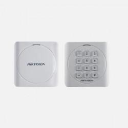Cititor card cu tastatura Hikvision DS-K1801EK, frecventa de operare RFID EM125K - DS-K1801EK