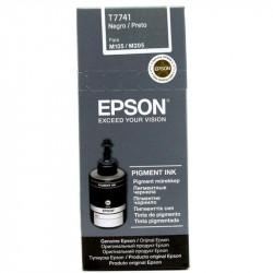 Flacon cerneala Epson T7741 pentru M100/M105, 140 ml, Black - C13T77414A
