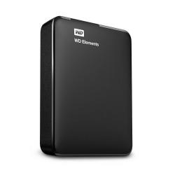 """HDD extern WD Elements Portable, 2TB, 2.5"""", USB 3.0, Negru - WDBU6Y0020BBK-WESN"""