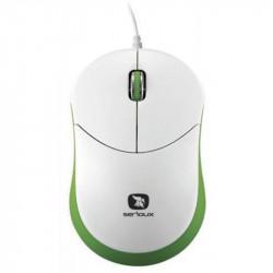 Mouse Serioux Rainbow 680, USB, Verde - RBM680-GR