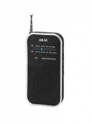 Radio ceas Akai ACR-267 Pcket AM-FM Radio -Analog tuning with AM/FM Radio -Mono - APR-350