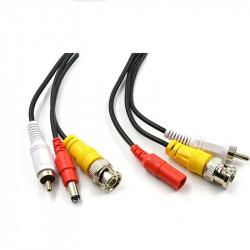 Cablu video cu alimentare siaudio 20 metri LN-EC04-20M-AUDIO; conectori: BNC - LN-EC04-20M-AUDIO