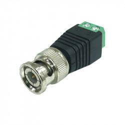 Conector BNC prindere cu surub LN-CT03G, pachet 10 bucati - LN-CT03G
