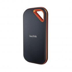 SSD Extern SanDisk Extreme PRO® V2, 1TB, NVMe, USB 3.2 Gen2x2, Aluminiu, protectie IP55 - SDSSDE81-1T00-G25