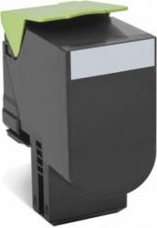 Toner Lexmark 80C2HKE, Negru - 80C2HKE