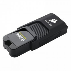 USB Flash Drive Corsair, 128GB, Voyager Slider X1, USB 3.0, Negru - CMFSL3X1-128GB