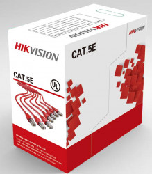 Cablu UTP CAT5 Hikvision cupru DS-1LN5E-S 0.45mm rola 305 metri - DS-1LN5E-S