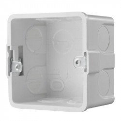 Gang Box Hikvision, DS-KAB86; Convenient design available for indoorstation wall - DS-KAB86