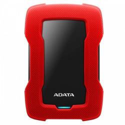 """HDD Extern ADATA Durable HD330 2TB, Shock Sensor, 2.5"""", USB 3.1, Rosu - AHD330-2TU31-CRD"""