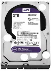 HDD WD Purple 3TB, 5400rpm, 64MB cache, SATA III - WD30PURZ