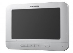 Monitor videointerfon color Hikvision DS-KH2220-S; conexiune pe 4 fire; stocare - DS-KH2220-S