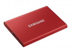 SSD extern Samsung T7 Touch portabil, 500GB, USB 3.1, Red - MU-PC500R/WW