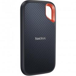 SSD extern Sandisk Extreme® Portable V2, 500GB, NVMe, USB 3.2 Gen 2, protectie IP55 - SDSSDE61-500G-G25