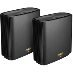 Asus Tri band large home Mesh ZENwifi system, XT8 2 pack; Black, 1.5 GHz quad- c - XT8(B-2-PK)