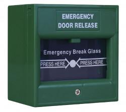 Buton iesire urgenta, culoare verde ND-EDR911 - ND-EDR911