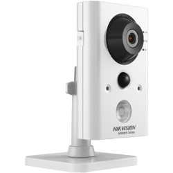 "Camera de supraveghere Hikvision IP Cube HWC-C220-D/W; 2MP; WIFI; lentila 2.8mm; distanta IR 10 metri; 1/2.8"" Progressive CMOS, ICR, 1920x1080: 25fps(P)/30fps(N), H.264/MJPEG, 3D DNR, support on-board storage up to 128GB (card not included), HIK-Connect c"