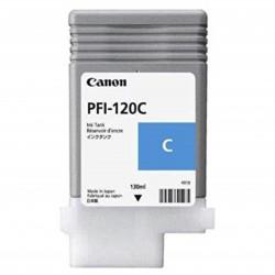 Cartus cerneala Canon PFI-120C, cyan, capacitate 130ml, pentru Canon TM 200/205/ - 2886C001AA