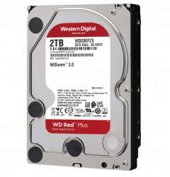 HDD WD Red™ Plus 2TB, 5400RPM, 128MB cache, SATA-III - WD20EFZX