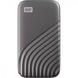 SSD Extern WD My Passport™ 4TB, USB 3.2 Gen2 Type-C/A, NVMe, Space Gray - WDBAGF0040BGY-WESN