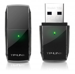 Adaptor wireless TP-Link AC600 Dual-band 433/150Mbps USB2.0 Realtek - ARCHER T2U
