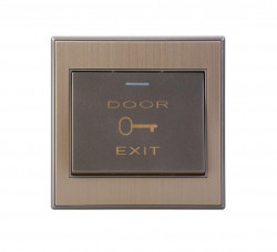 Buton de iesire, incastrabil, ND-EB02A-M; Iesire contact: NO/NC; luminade noapte - ND-EB02A-M
