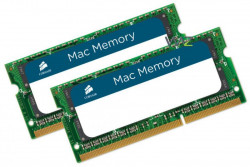 Memorie Corsair 8GB (2x4GB) SODIMM, DDR3, 1066MHz, CL7, 1.5V pentru Apple/MacBook - CMSA8GX3M2A1066C7
