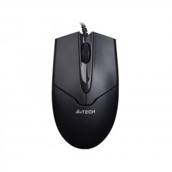 Mouse A4tech wired, optic, USB, OP-550NU-1, V-track Padless USB, metal feet, 100 - OP-550NU-1