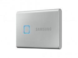 SSD extern Samsung T7 Touch portabil, 1TB, USB 3.1, Argintiu - MU-PC1T0S/WW