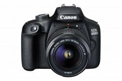Aparat foto DSLR Canon EOS 4000D,18.0 MP, Negru + Obiectiv EF-S 18-55mm F/3.5-5.6 III Negru - 3011C018AA