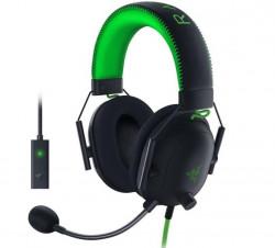 Casti gaming Razer BlackShark V2 SE + USB SoundCard, Multiplatforma, THX Certified, Drivere 50mm TriForce Titanium, Microfon Cardioid, Negru - RZ04-03230200-R3M1