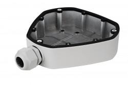 Cutie de jonctiune HIKVISION DS-1280ZJ-DM25, compatibil cu DS-2CD6332FWD-XXX, DS-2CD6362F-XXX, aluminiu, Alb - DS-1280ZJ-DM25