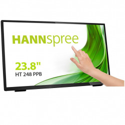 Monitor Touchscreen HANNSPREE HT248PPB LED 23.8 inch Wide Full HD D-Sub HDMI DP Negru - HT248PPB