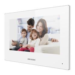 Monitor videointerfon WIFI modular 7 color Hikvision DS-KH6320-WTE1-W; culaore a - DS-KH6320-WTE1-W