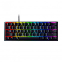 Tastatura gaming mecanica Razer Huntsman Mini, iluminare Chroma RGB, switch optic Red, Negru - RZ03-03390200-R3M1