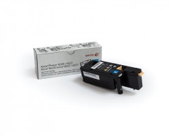 Toner XEROX pentru Phaser 6020&6022, WorkCentre 6025&6027, Cyan - 106R02760