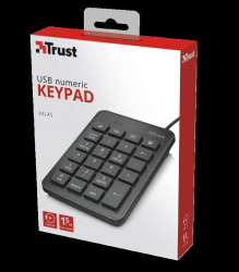 Trust Xalas USB Numeric Keypad Specifications General Height of main product (i - TR-22221