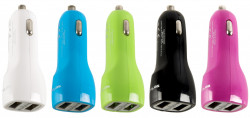 ZZ CAR CHARGER SERIOUX USB 2.1A BULK