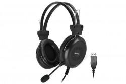 A4Tech Headphones HU-30 Stereo USB Black - HU-30