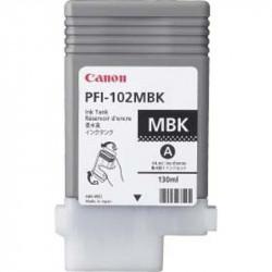 Cartus Canon PFI102MB, Negru Mat - CF0894B001AA