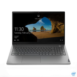 Laptop Lenovo 15.6'' ThinkBook 15 G2 ITL, FHD IPS, Procesor Intel® Core™ i5-1135G7 (8M Cache, up to 4.20 GHz), 8GB DDR4, 512GB SSD, Intel Iris Xe, No OS, Mineral Gray - 20VE00FLRM