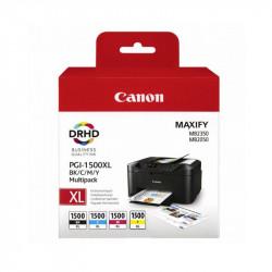 Multipack cartuse Canon PGI-1500 XL, Cyan/Magenta/Yellow/Black - BS9182B004AA