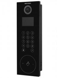 Post videointerfon de exterior pentru blocuri Hikvision DS-KD8103-E6, monitor LC - DS-KD8103-E6
