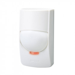 Detector de miscare interior PIR Optex Wide Angle Quad zone, raza de acoperire 15 x 15 m, unghi de detectie 85 grade, grad 2 securitate - FMX-ST