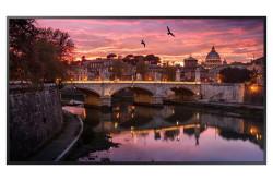"Monitor Smart Signage Samsung QB75R, 75"", UltraHD 4K, negru - LH75QBREBGCXEN"