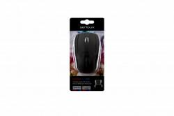 Mouse Wireless Serioux Rainbow 400, USB, Negru - SRXM-RBM400W-BK