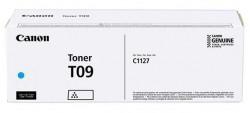 Toner Canon CRG-T09 cyan, 5.9k pagini, pentru i-sensys, C1127I/IF/P. - 3019C006AA