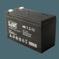 Acumulator VRLA AGM fara intretinere 7Ah 12V. terminal de conexiune F1; Dimensiu - MB7.2-12