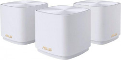 Asus dual-band large home Mesh ZENwifi system, XD4 3 pack; white , 256 MB Flash, - XD4(W-3-PK)
